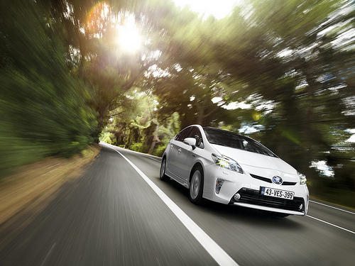 2012 Toyota Prius; photo courtesy Toyota UK