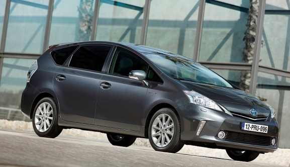 A 2013 Toyota Prius; photo courtesy Lyndsi Decker