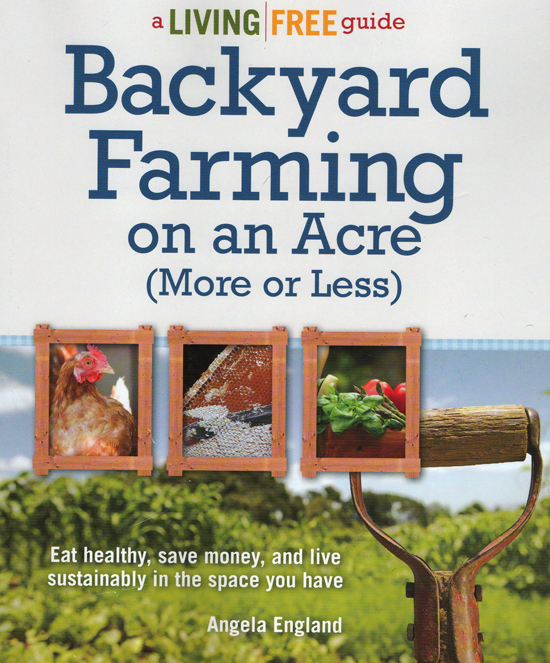 Backyard Farming book; photo courtesy Angela England