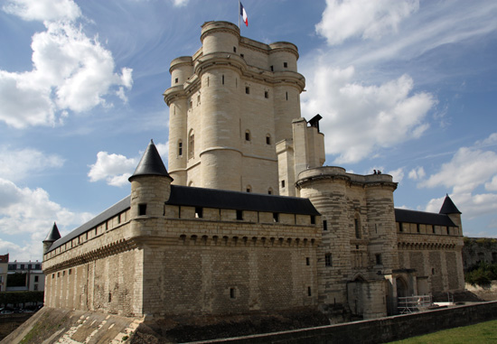 The Chateau de Vincennes Donjon; photo courtesy Edal Anton Lefterov