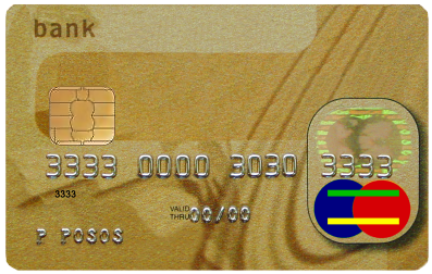 A generic credit card; photo courtesy Channel R