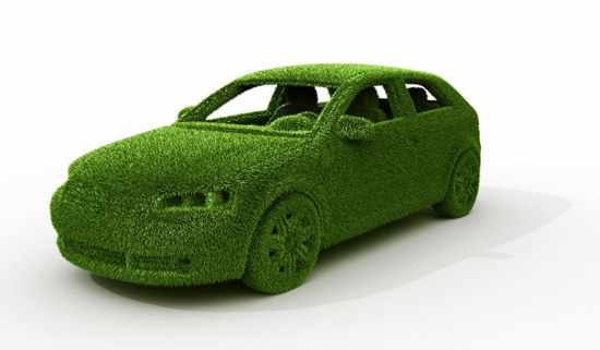 A green, sustainable upholstered car; photo courtesy Meghan Belnap