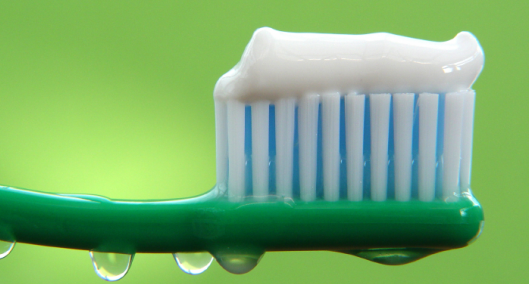 Environmentally-friendly toothpaste; photo courtesy Lyndsi Decker