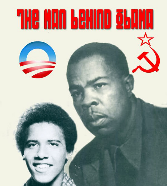 Barack Obama and mentor Frank Marshall Davis