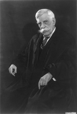 Oliver Wendell Holmes Jr, United States Supreme Court justice; photo courtesy Library of Congress Prints and Photographs Division