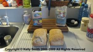 Quinoa whole wheat bread; photo © 2008 Kelly Smith