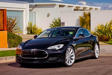 A Tesla Model S sedan; photo courtesy Crixxor