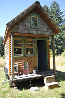 A tiny house; photo courtesy Tammy